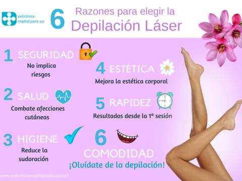 razones para elegir la depilacion laser