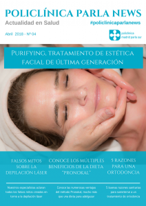 Portada revista salud Policlínica Parla News Abril 2018