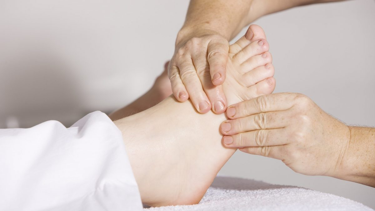fisioterapia neurologica parla, tratamiento en pies