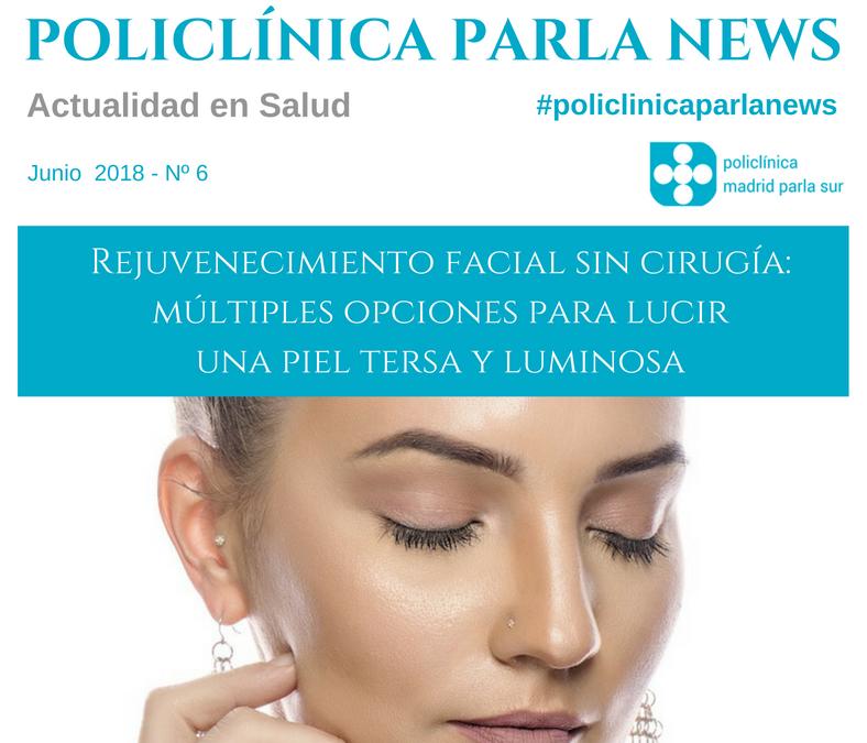 Portada revista junio 2018 medicina y salud de Policlínica Madrid Parla Sur