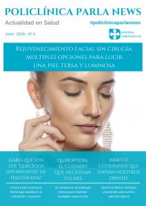 Portada revista medicina y salud Policlínica Parla News junio 2018
