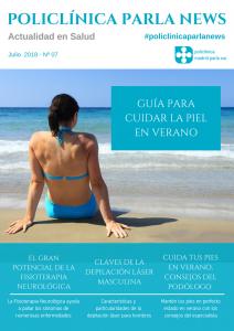 Policlinica Parla News Julio 2018, revista sobre salud, portada