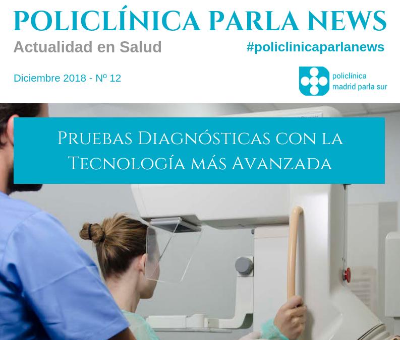 portada revista salud Policlínica Parla News diciembre 2018